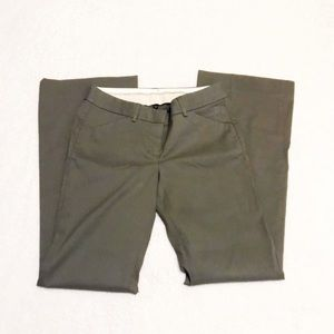 NWT The Limited olive career pant size 2 R regular